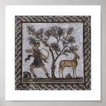 Tunisia Roman Mosaics Poster