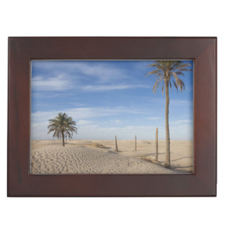Tunisia, Sahara Desert, Douz, Great Dune, dawn Keepsake Box