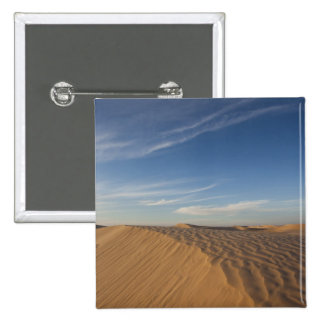 Tunisia, Sahara Desert, Douz, Great Dune, dusk 15 Cm Square Badge