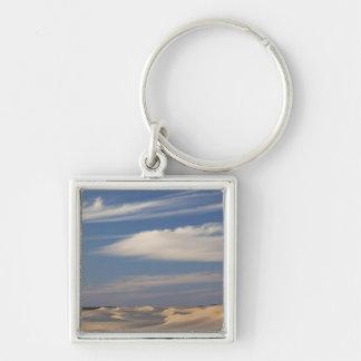 Tunisia, Sahara Desert, Douz, Great Dune, dusk 2 Key Ring