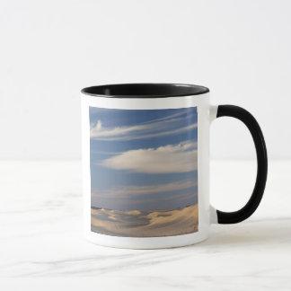 Tunisia, Sahara Desert, Douz, Great Dune, dusk 2 Mug