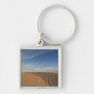 Tunisia, Sahara Desert, Douz, Great Dune, dusk Key Ring