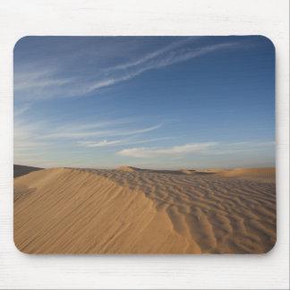 Tunisia, Sahara Desert, Douz, Great Dune, dusk Mouse Mat