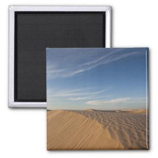 Tunisia, Sahara Desert, Douz, Great Dune, dusk Square Magnet