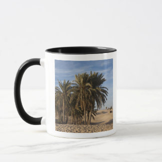 Tunisia, Sahara Desert, Douz, Great Dune, palm Mug