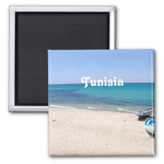 Tunisia Square Magnet