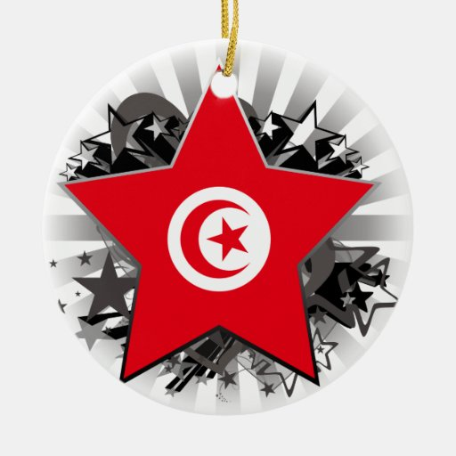 Tunisia Star Christmas Tree Ornaments