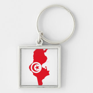 Tunisia TN Key Ring