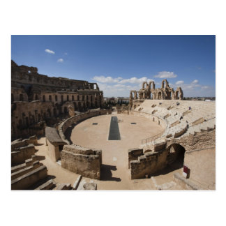 Tunisia, Tunisian Central Coast, El Jem, Roman 6 Postcard