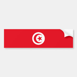Tunisia/Tunisian Flag Bumper Sticker