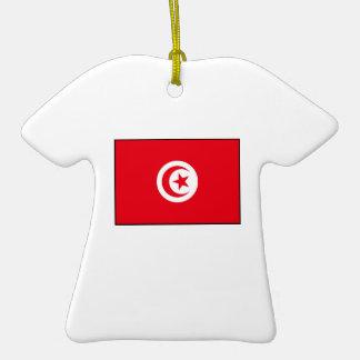 Tunisia - Tunisian Flag Ornament