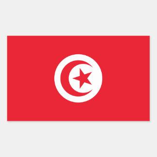 Tunisia/Tunisian Flag Rectangular Sticker