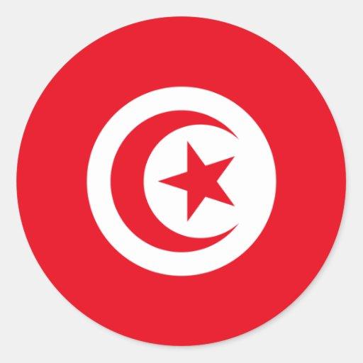 Tunisia/Tunisian Flag Stickers
