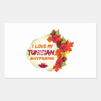 Tunisian Boyfriend Rectangle Stickers