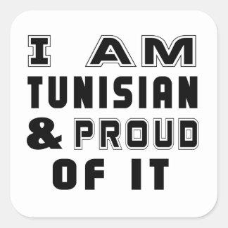 TUNISIAN DESIGNS SQUARE STICKER