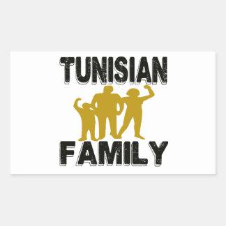 Tunisian Family Stickers