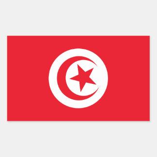 Tunisian Flag Rectangular Stickers
