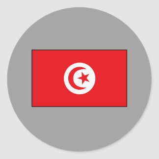 Tunisian Flag T-shirts and Gifts Stickers