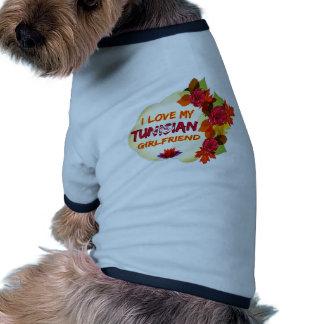 Tunisian Girlfriend Designs Doggie T Shirt