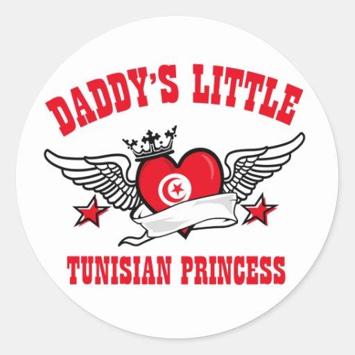 Tunisian Princess Designs Round Stickers