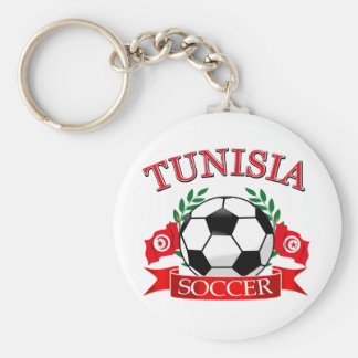 Tunisian Soccer Designs Key Ring