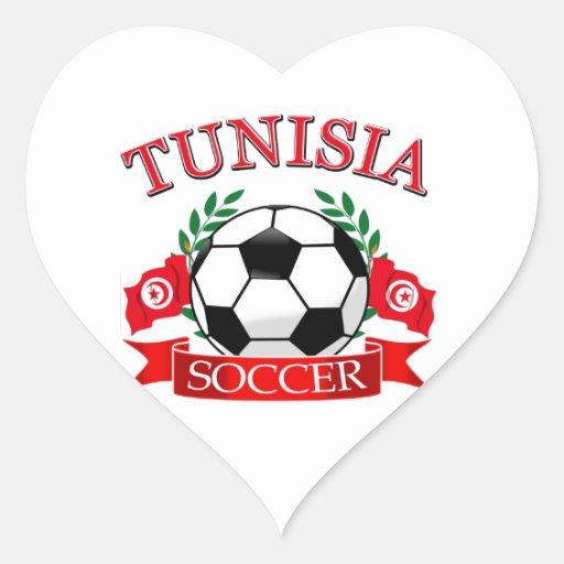 Tunisian Soccer Designs Sticker