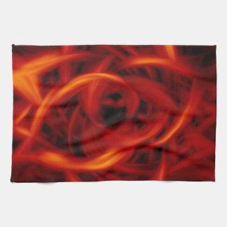 Tunnel Fire Hand Towel