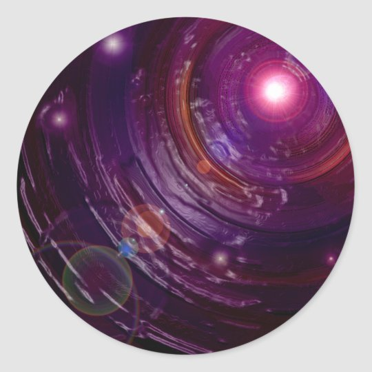 Tunnel of the Fireflies Classic Round Sticker