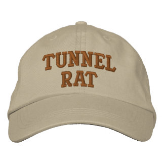 TUNNEL RAT VIETNAM EMBROIDERED HAT