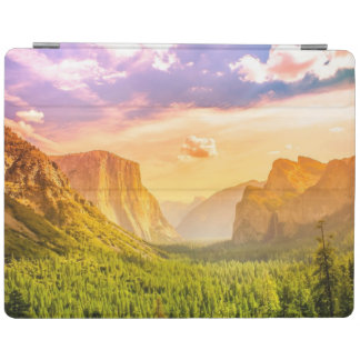 Tunnel View of Yosemite National Park iPad Cover