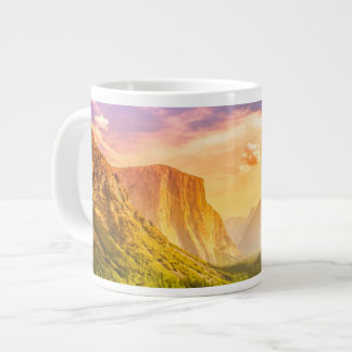 Tunnel View of Yosemite National Park Large Coffee Mug