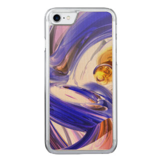 Tunnel Vision Abstract Carved iPhone 7 Case