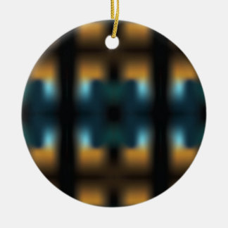 TUNNEL VISION SQUARED CHRISTMAS ORNAMENT