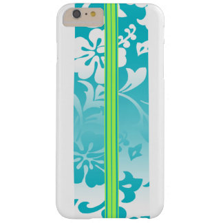Tunnels Beach Hawaiian Surfboard Barely There iPhone 6 Plus Case