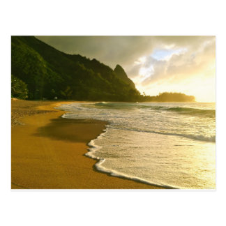Tunnels Beach, Kauai Postcard