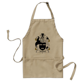 Tunstall Family Crest Standard Apron