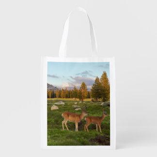 Tuolumne Meadow, Yosemite Reusable Grocery Bag