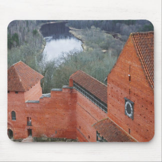 Turaida Castle by Gauja River, Sigulda, Latvia Mouse Mat