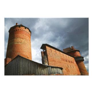 Turaida Castle, Sigulda, Latvia Photo Print