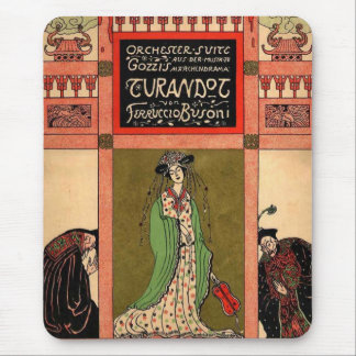 Turandot, a Puccini Opera Mouse Mat