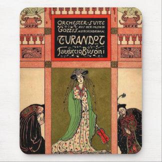 Turandot, a Puccini Opera Mouse Pad