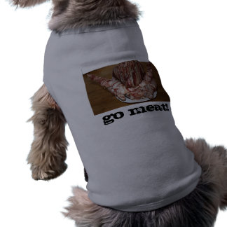 TurBaDucken, GO MEAT!!! Dog Tank (customizable) Pet Clothes