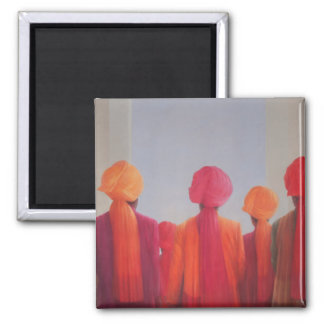 Turban Group 2012 Square Magnet