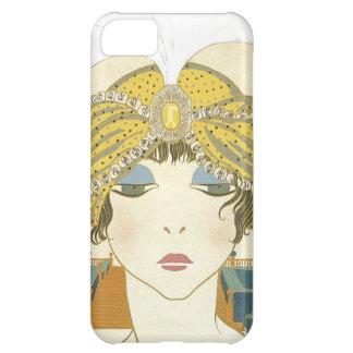 Turbaned Poiret 1900s Fashion Illustration iPhone 5C Case