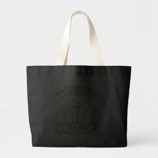 Turbine Cowboy Tote Bag