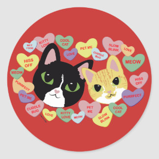Turbo and Tilly Vday Stickers