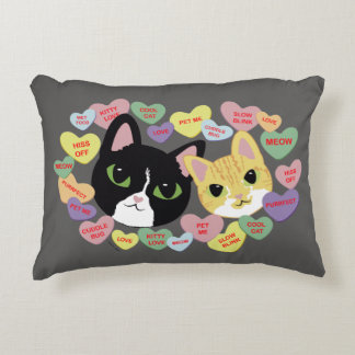 Turbo and Tilly Vday Throw Pillow