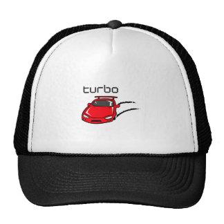 TURBO CAR TRUCKER HAT