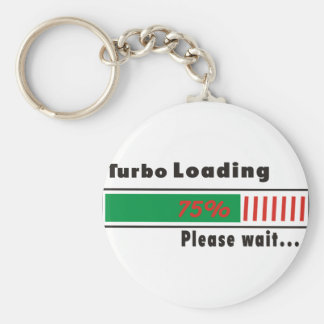 Turbo Loading Please wait Key Ring