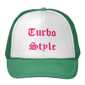 Turbo Style Cap